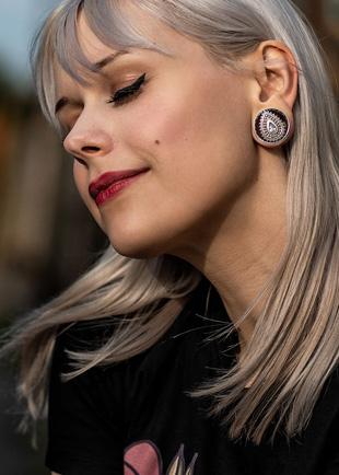 316L Surgical Steel Daith Piercing Hipster 16g Nose Ring Body Jewellery. Cartilage Jewelry Nose Hoop Rose Gold Tribal Septum Piercing