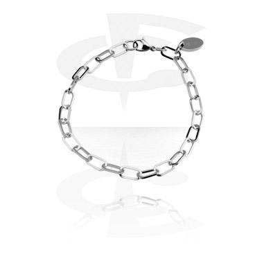 Náramky s přívěšky, Bracelet for Charms, Surgical Steel 316L
