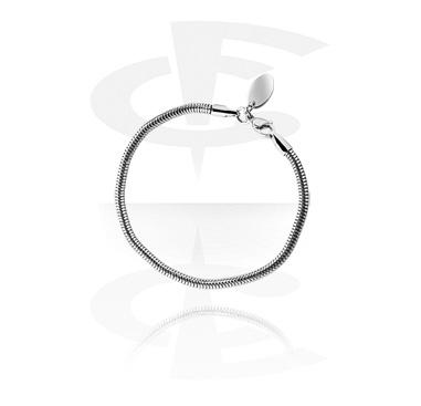 Korálky, Bead Bracelet, Surgical Steel 316L