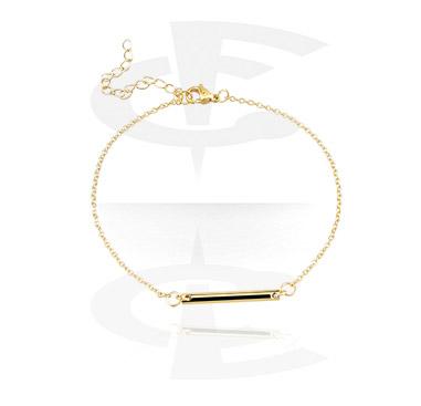 Bracelets, Fashion Bracelet, Gold-Plated Surgical Steel
