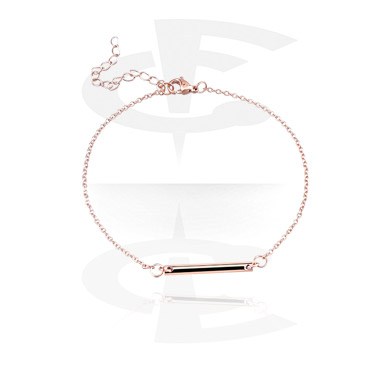 Bracelets, Fashion Bracelet, Rosegold-Plated Steel