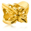 Perlice, Bead for Bead Bracelet, Gold Plated Surgical Steel 316L