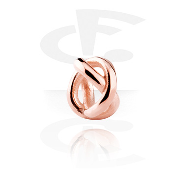 Bead, Bead, Rosegold Plated Steel