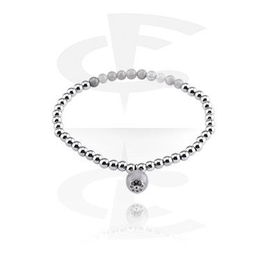 Bracelets, Natural Stone Bracelet, Rock Crystal, Elastic Band