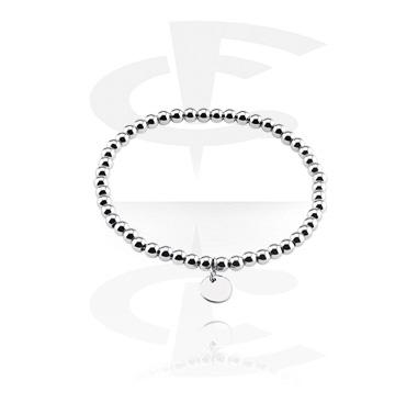 Bracelets, Fashion Bracelet, Surgical Steel 316L, Elastic Band