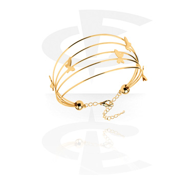 Bracelets, Fashion Bangle, Gold-Plated Surgical Steel
