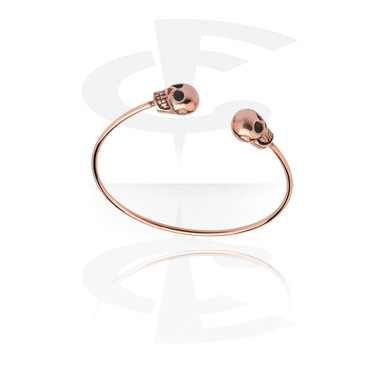 Náramky, Bangle, Rose Gold Plated Steel