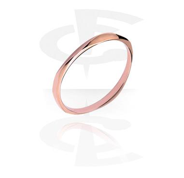 Bracciali, Bracciale di tendenza, Acciaio chirurgico 316L, Oro rosato