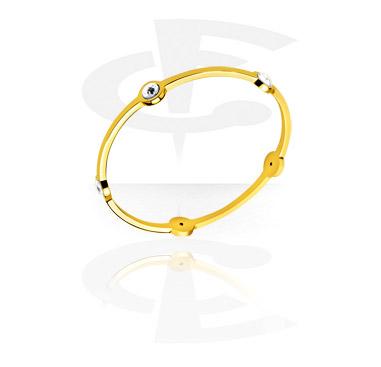 Bracelets, Fashion Bangle, Gold Plated