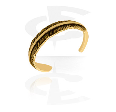 Náramky, Fashion Bangle, Gold Plated