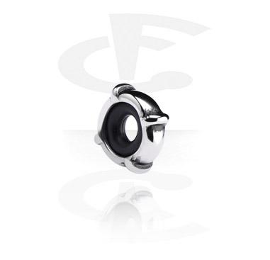 Korálky, Stopper for Bead Bracelets, Surgical Steel 316L