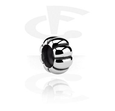 Beads, Stoppare för Bead-Armband, Kirurgiskt stål 316L