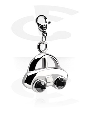 Charms, Charm with Car Design, Surgical Steel 316L