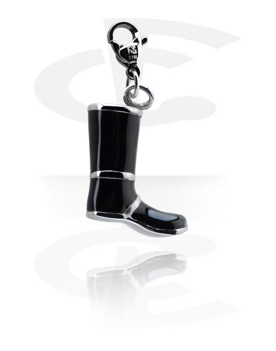 Bettelarmbänder, Anhänger mit Schuh-Design, Chirurgenstahl 316L
