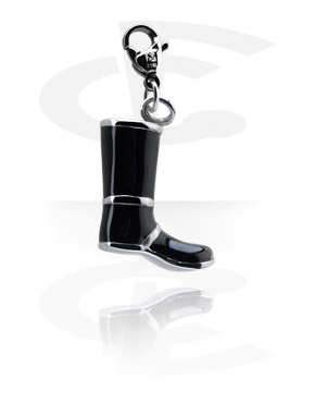Charms, Charm with Shoe Design, Surgical Steel 316L
