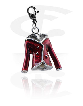Charms, Charm with Jacket, Surgical Steel 316L