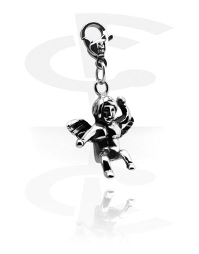 Charms, Charm for Charm Bracelets, Surgical Steel 316L