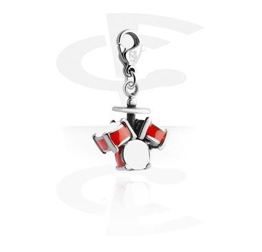 Náramky s přívěšky, Charm for Charm Bracelets, Surgical Steel 316L