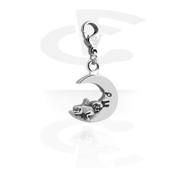 Bracciali con Ciondoli, Charm for Charm Bracelets, Surgical Steel 316L