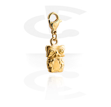 Charms, Charm for Charm Bracelets, Gold Plated Steel