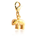 Narukvice s privjescima, Charm for Charm Bracelet, Gold Plated Surgical Steel 316L
