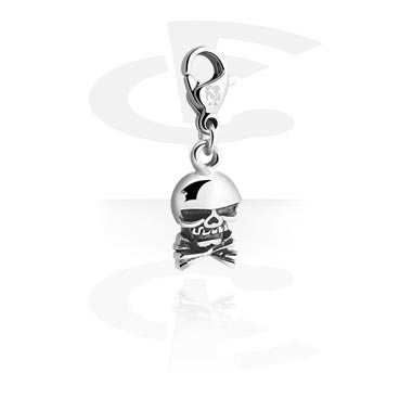 Charms, Charm for Charm Bracelet, Surgical Steel 316L