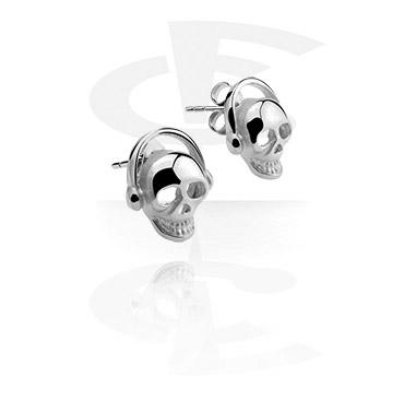 Earrings, Studs & Shields, Ear Studs, Surgical Steel 316L