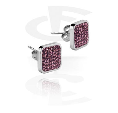 Jeweled Ear Studs