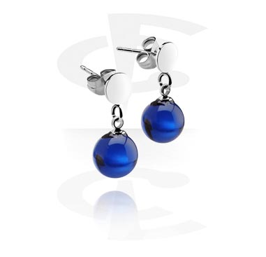 Ear Studs with Pendant