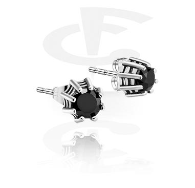 Náušnice, Ear Studs, Surgical Steel 316L