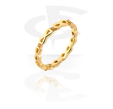 Rings, Ring, Gold Plated Steel
