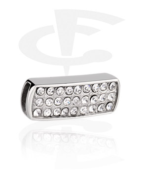 Flatbead, Flat-Bead per braccialetti flat-bead, Acciaio chirurgico 316L