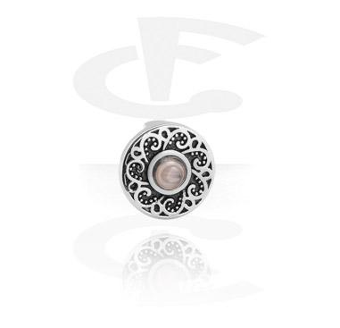 Flat bead pour bracelet flat bead