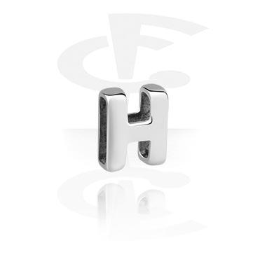 Ploché korálky, Flat-Bead for Flat-Bead Bracelets, Surgical Steel 316L