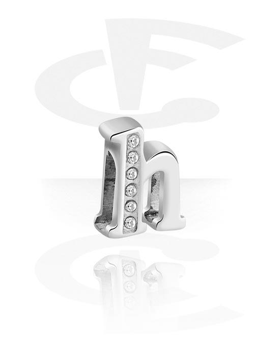 Flatbeads, Flatbead voor flatbeadsarmbanden, Chirurgisch staal 316L