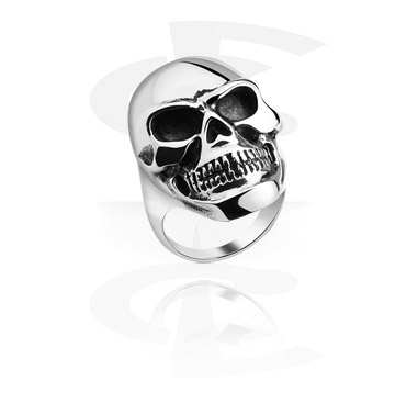 Ring kanssa Skull