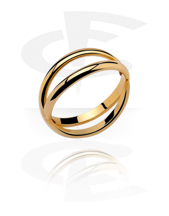 Rings, Midi Ring, Gold Plated Surgical Steel 316L
