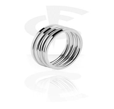 Pierścionki i obrączki, Midi Ring, Surgical Steel 316L