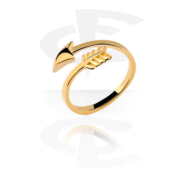 Prsteny, Midi Ring, Gold Plated