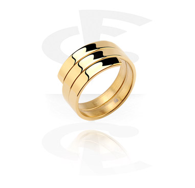 Prsteny, Midi Ring, Gold Plated