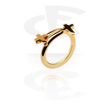 Pierścionki i obrączki, Midi Ring, Gold Plated