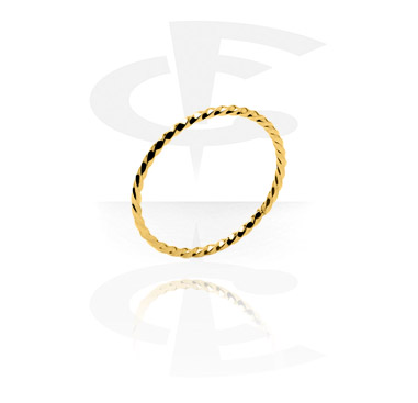 Prsteny, Ring, Gold Plated