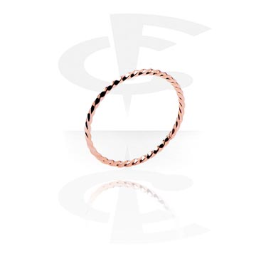 Rings, Ring, Rose Gold Plated Steel