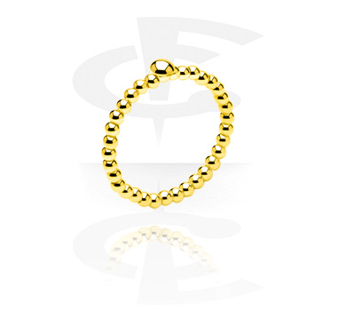 Rings, Ring, Gold Plated Surgical Steel 316L