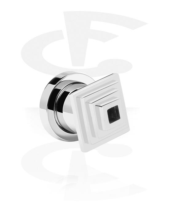 Tunnels & Plugs, Tunnel, Acier chirurgical 316L