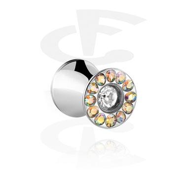 Jeweled Double Flared Plug