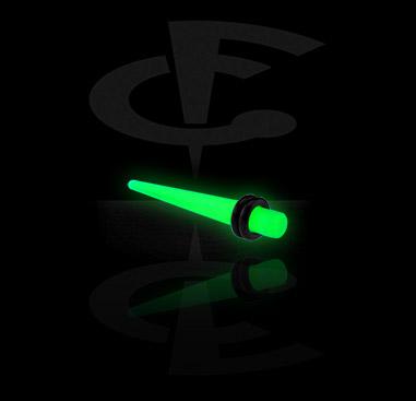 "Roztahovací nástroje, ""Glow in the Dark"" Expander, Acrylic"