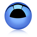 Kuglice i zamjenski nastavci, Anodised Ball, Surgical Steel 316L