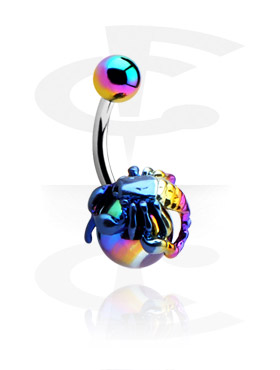 Banany, Anodised Fancy Banana , Surgical Steel 316L