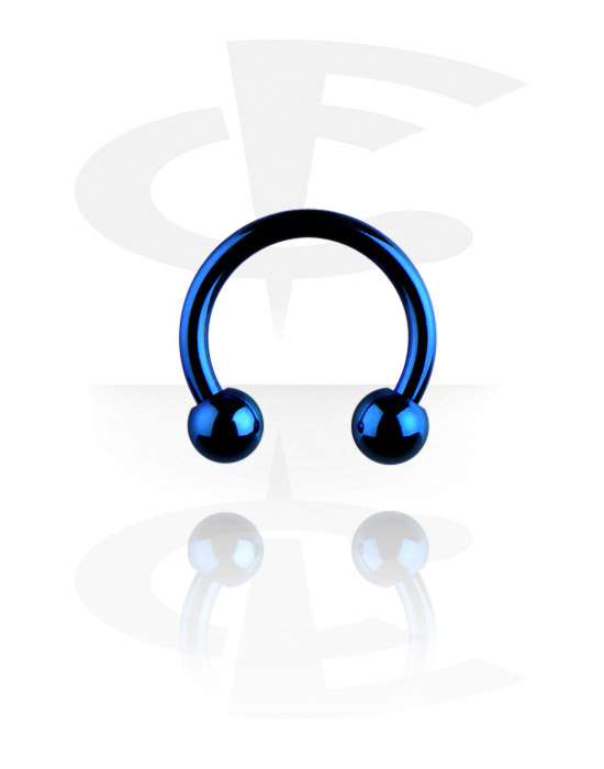 Circular Barbells, Anodized Circular Barbell, Surgical Steel 316L